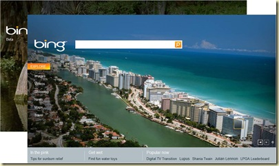 Bing Pages Accueil
