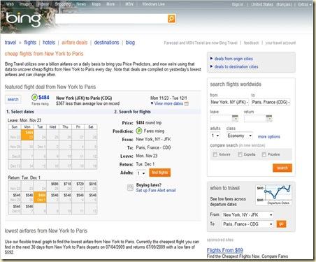 Bing Recherche Vol Avion