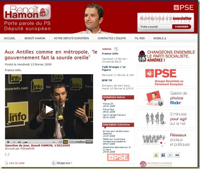 Blog Benoit Hamon