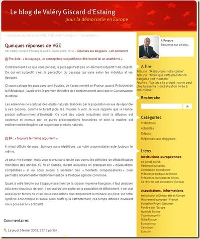Blog VGE