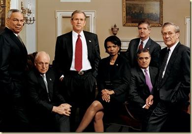 Bush team 2001