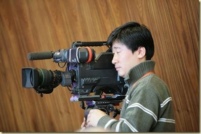 Cameraman chez SK Telecom