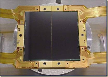 Capteur CCD du Hubble Telescope WFC3