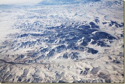 Mongolie vue du ciel 1