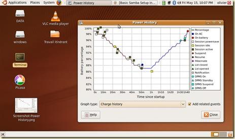 Ubuntu Power Management Screenshot