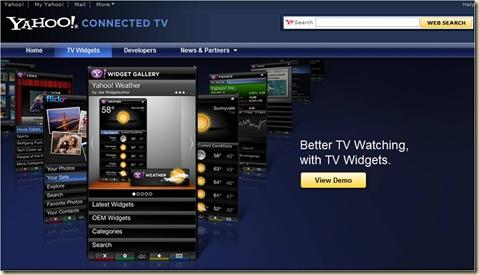 Yahoo Widgets Web Site